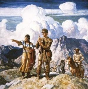 Sacagawea and Lewis & Clark