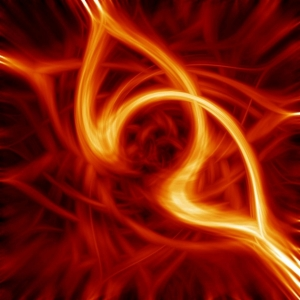 abstract image of fire