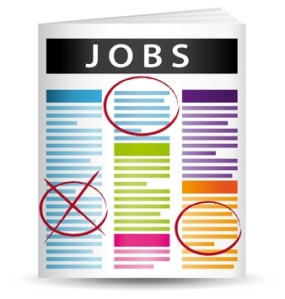 job want ads in color