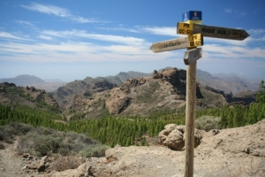 signpost on remote path