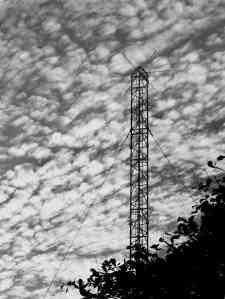 radio tower mast