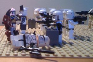 Star Wars Legos clones