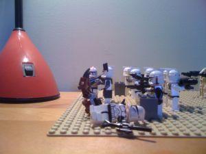 Star Wars Legos clones