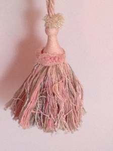 The tassel I made from that long ago class!