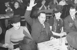 Bingo winner in Montreal, 1941. One day, you'll feel this excited about winning your own personal bingo game.
