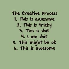 creative process meme