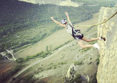 Rope jumping.