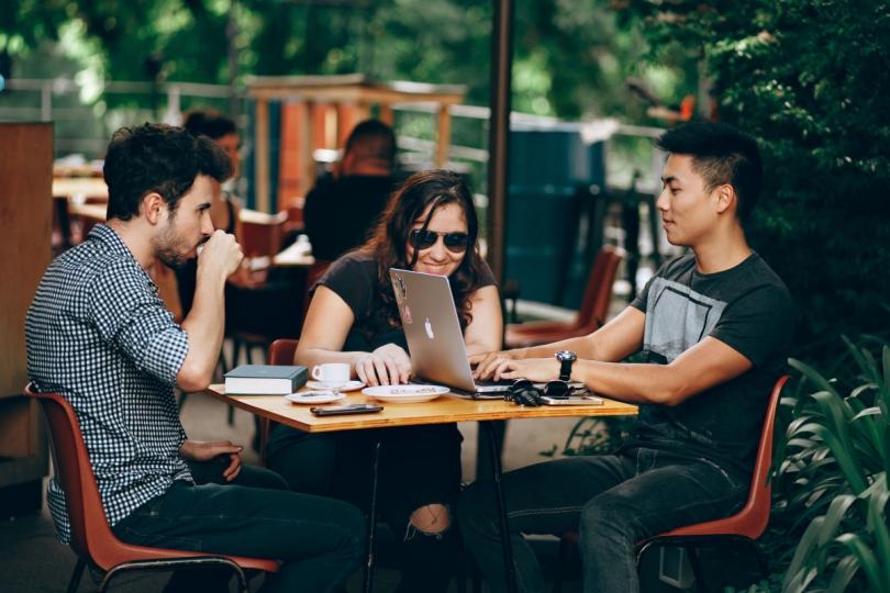 writer coffee house